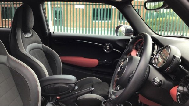 2020 MINI John Cooper Works (Red) - Image: 11