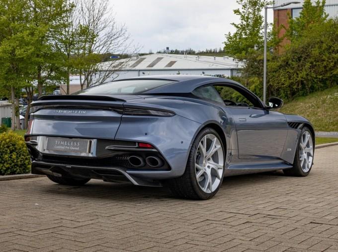 2018 Aston Martin V12 BiTurbo Superleggera Auto 2-door (Blue) - Image: 2