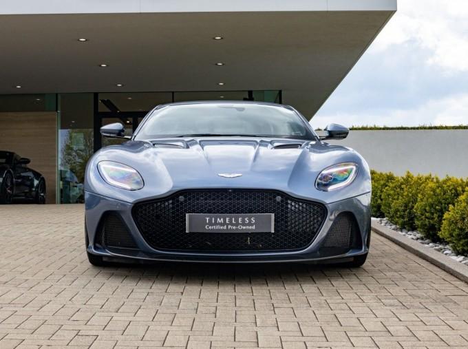 2018 Aston Martin V12 BiTurbo Superleggera Auto 2-door (Blue) - Image: 21