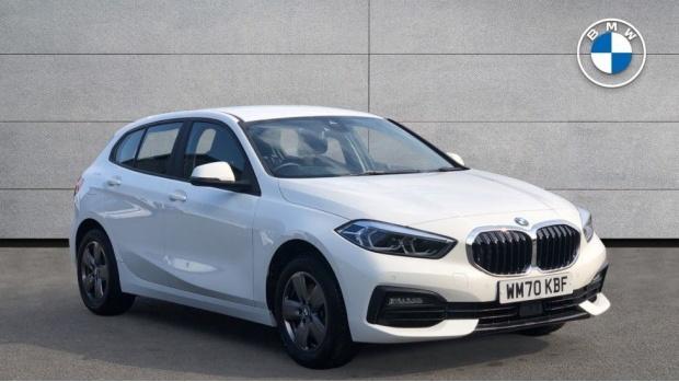 2021 BMW 116d SE (White) - Image: 1