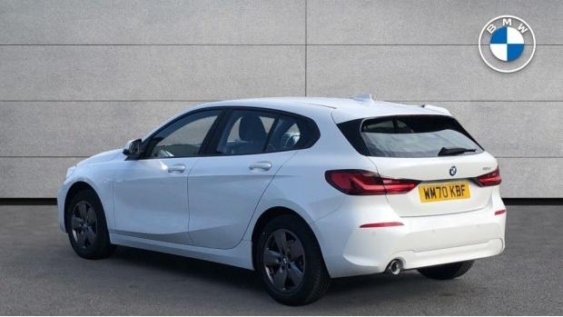 2021 BMW 116d SE (White) - Image: 2