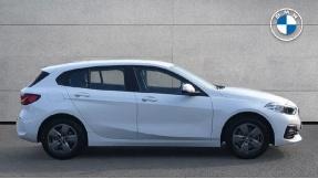 2021 BMW 116d SE (White) - Image: 3