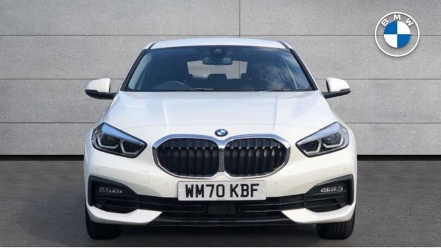 2021 BMW 116d SE (White) - Image: 16