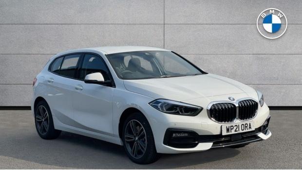 2021 BMW 116d Sport (White) - Image: 1