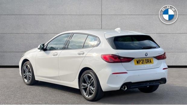 2021 BMW 116d Sport (White) - Image: 2
