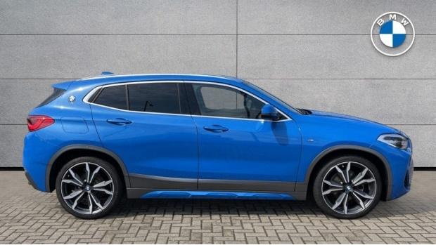 2020 BMW XDrive18d M Sport X (Blue) - Image: 3