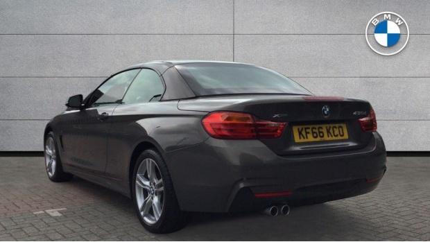 2017 BMW 435d xDrive M Sport Convertible (Beige) - Image: 2