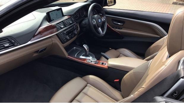 2017 BMW 435d xDrive M Sport Convertible (Beige) - Image: 7