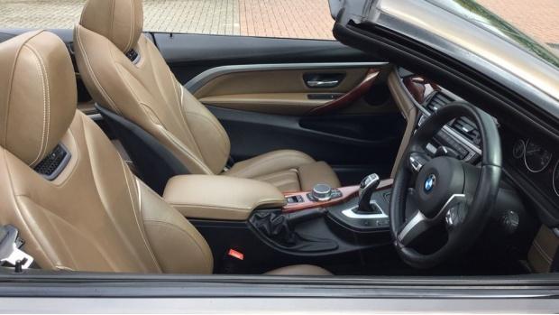 2017 BMW 435d xDrive M Sport Convertible (Beige) - Image: 11