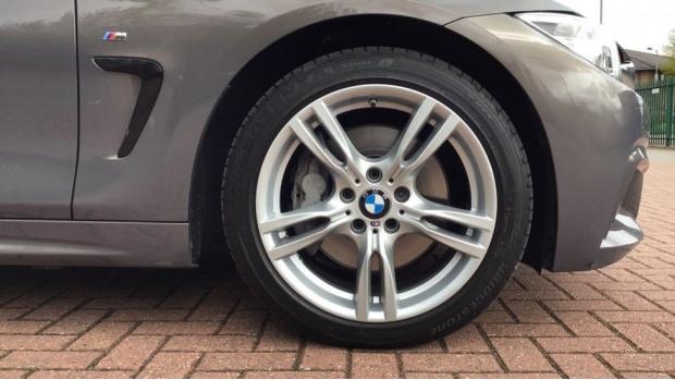 2017 BMW 435d xDrive M Sport Convertible (Beige) - Image: 14