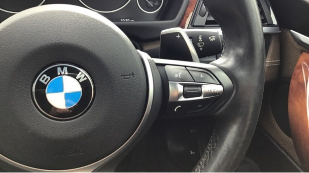2017 BMW 435d xDrive M Sport Convertible (Beige) - Image: 18