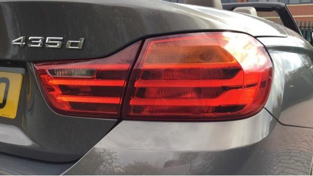 2017 BMW 435d xDrive M Sport Convertible (Beige) - Image: 22