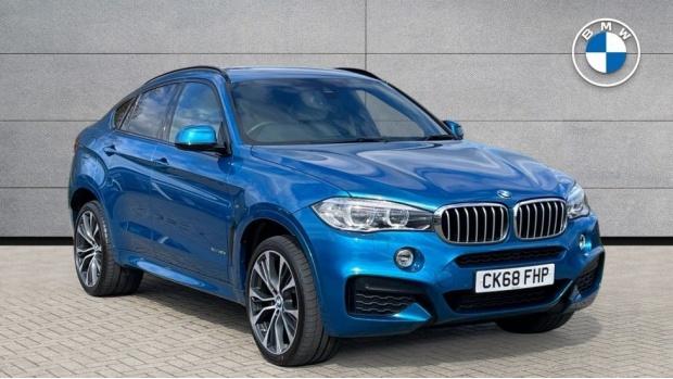 2018 BMW XDrive40d M Sport (Blue) - Image: 1