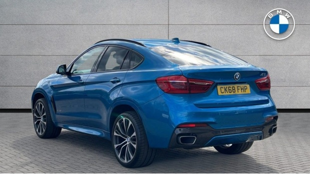 2018 BMW XDrive40d M Sport (Blue) - Image: 2