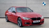 2018 BMW 320i M Sport Shadow Edition Saloon (Red) - Image: 1