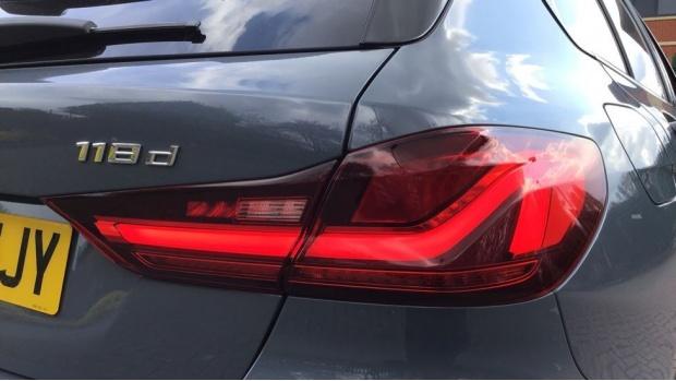 2020 BMW 118d M Sport (Grey) - Image: 22