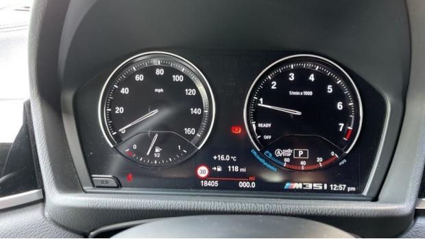 2019 BMW M35i (Blue) - Image: 9