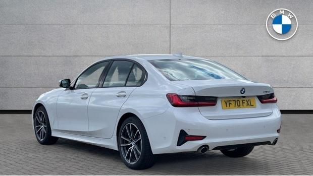 2020 BMW 318d Sport Saloon (White) - Image: 2