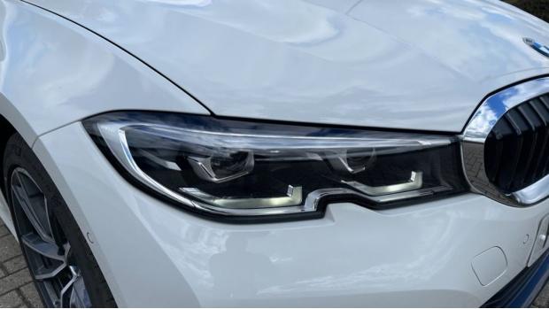 2020 BMW 318d Sport Saloon (White) - Image: 23