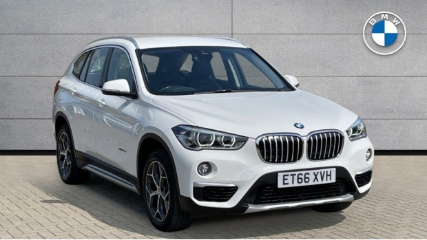 2017 BMW SDrive18d xLine (White) - Image: 1
