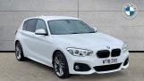 2018 BMW 120i M Sport 5-door (White) - Image: 1