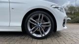2018 BMW 120i M Sport 5-door (White) - Image: 14