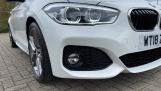 2018 BMW 120i M Sport 5-door (White) - Image: 27