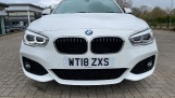 2018 BMW 120i M Sport 5-door (White) - Image: 28