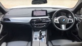 2020 BMW 520d M Sport Touring (White) - Image: 4