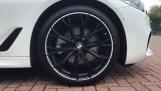 2020 BMW 520d M Sport Touring (White) - Image: 14