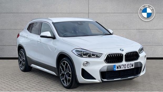 2020 BMW XDrive18d M Sport X (White) - Image: 1