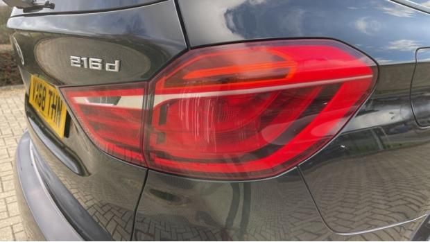 2018 BMW 216d Sport Gran Tourer (Black) - Image: 22