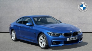 2018 BMW 4 Series 420d M Sport Coupe 2-door