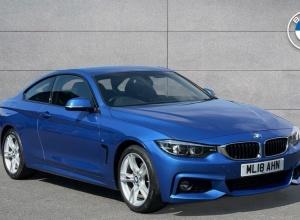 Brand new 2018 BMW 4 Series 420d M Sport Coupe 2-door finance deals