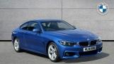 2018 BMW 420d M Sport Coupe (Blue) - Image: 1