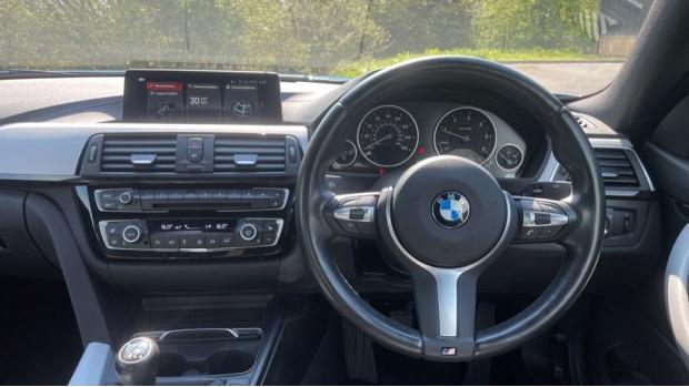 2018 BMW 420d M Sport Coupe (Blue) - Image: 5