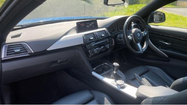 2018 BMW 420d M Sport Coupe (Blue) - Image: 7