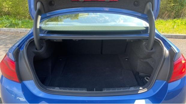 2018 BMW 420d M Sport Coupe (Blue) - Image: 13