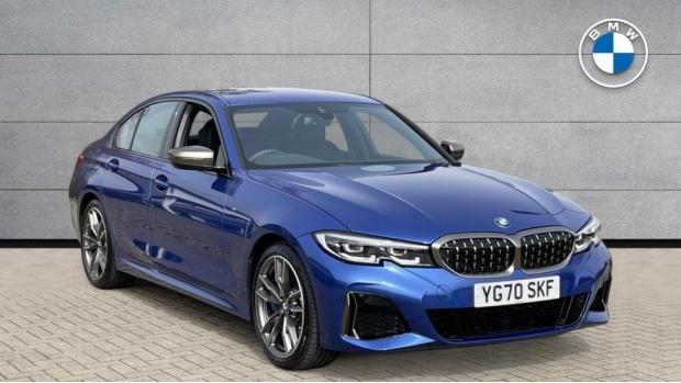 2020 BMW M340i xDrive Saloon (Blue) - Image: 1