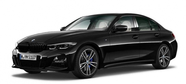 2021 BMW 320i M Sport Auto xDrive 4-door (Black) - Image: 1