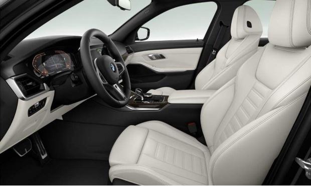 2021 BMW 320i M Sport Auto xDrive 4-door (Black) - Image: 3