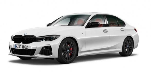 2021 BMW M340d MHT Auto xDrive 4-door (White) - Image: 1