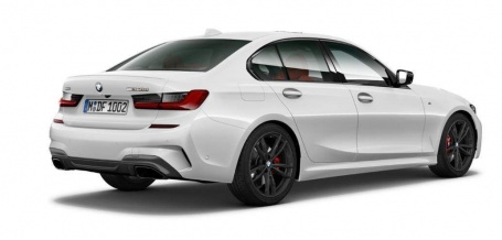 2021 BMW M340d MHT Auto xDrive 4-door (White) - Image: 2
