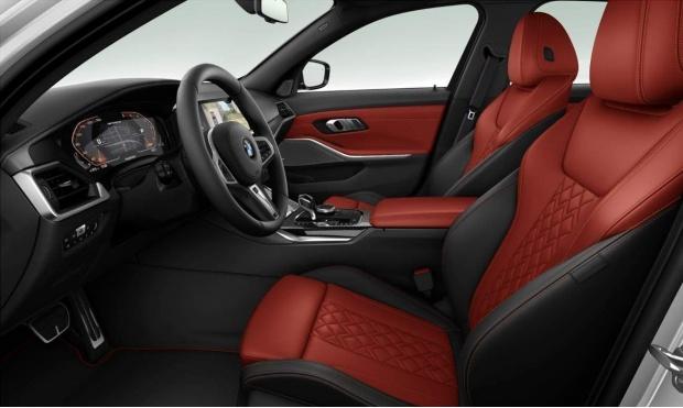 2021 BMW M340d MHT Auto xDrive 4-door (White) - Image: 3