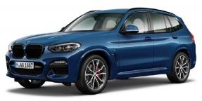 2021 BMW 20d MHT M Sport Auto xDrive 5-door (Blue) - Image: 1