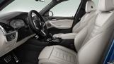 2021 BMW 20d MHT M Sport Auto xDrive 5-door (Blue) - Image: 3