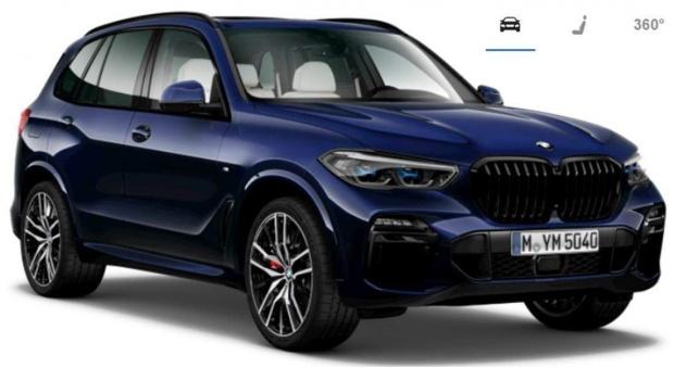 2021 BMW 40i MHT M Sport Auto xDrive 5-door (Blue) - Image: 1