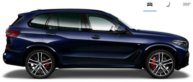 2021 BMW 40i MHT M Sport Auto xDrive 5-door (Blue) - Image: 2