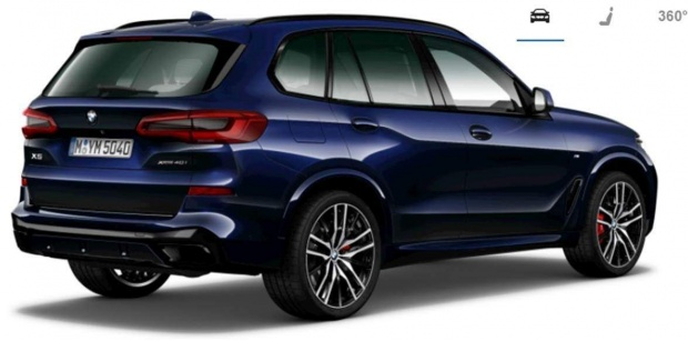 2021 BMW 40i MHT M Sport Auto xDrive 5-door (Blue) - Image: 3