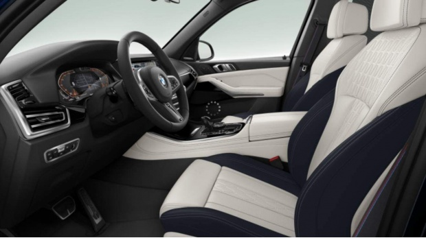 2021 BMW 40i MHT M Sport Auto xDrive 5-door (Blue) - Image: 4